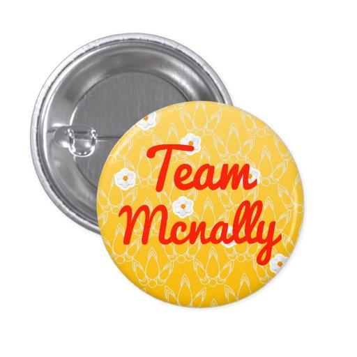 Equipo Mcnally Pin Redondo 2,5 Cm