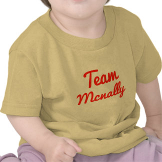 Equipo Mcnally Camiseta