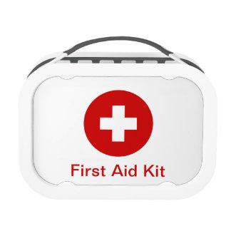 Equipo médico de los primeros auxilios