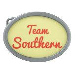 Equipo meridional hebilla de cinturon