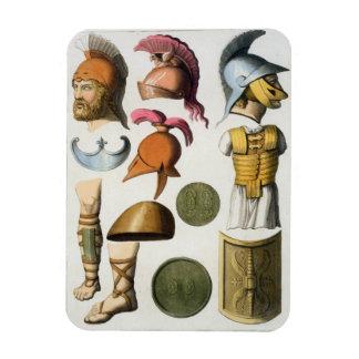 Equipo militar romano, de 'Le Costume Ancien Imanes Flexibles