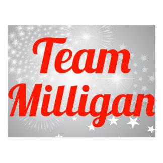 Equipo Milligan Postal