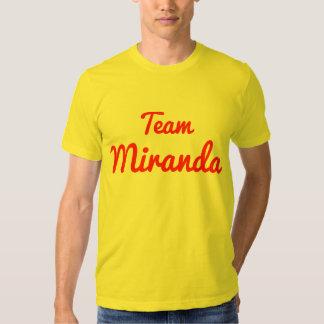 Equipo Miranda Camisas