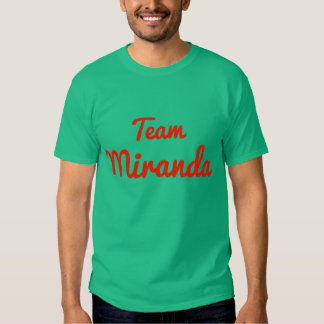 Equipo Miranda Playera