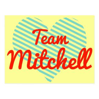 Equipo Mitchell Tarjetas Postales