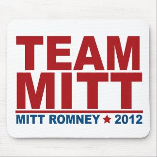 Equipo Mitt Romney 2012 Alfombrilla De Ratones