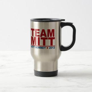 Equipo Mitt Romney 2012 Taza
