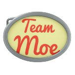 Equipo Moe Hebillas Cinturón Ovales