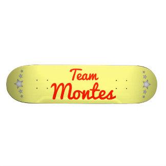 Equipo Montes Monopatín Personalizado