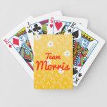 Equipo Morris Baraja Cartas De Poker