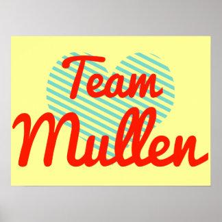 Equipo Mullen Póster