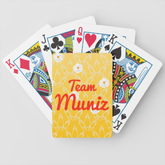 Equipo Muniz Baraja De Cartas