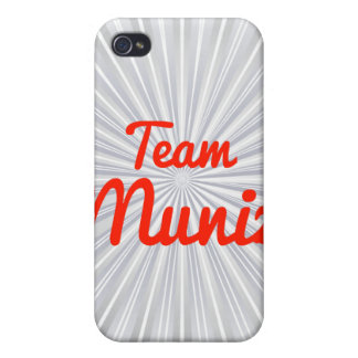 Equipo Muniz iPhone 4/4S Carcasas