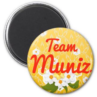 Equipo Muniz Imanes De Nevera