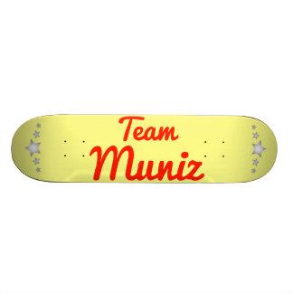 Equipo Muniz Patín Personalizado