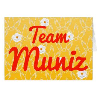 Equipo Muniz Tarjetón