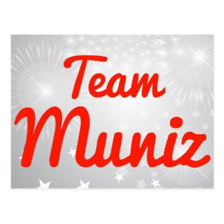 Equipo Muniz Tarjeta Postal