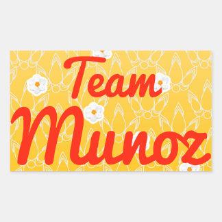 Equipo Munoz Rectangular Altavoz