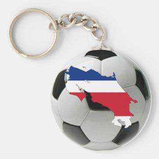 Equipo nacional de Costa Rica Llavero Redondo Tipo Pin