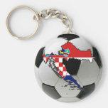 Equipo nacional de Croacia Llavero Personalizado