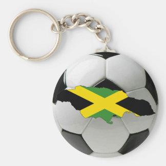 Equipo nacional de Jamaica Llavero Redondo Tipo Pin