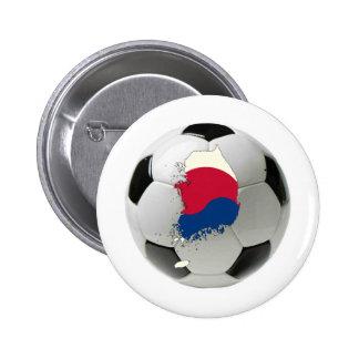 Equipo nacional de la Corea del Sur Pins