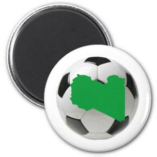 Equipo nacional de Libia Imán Redondo 5 Cm