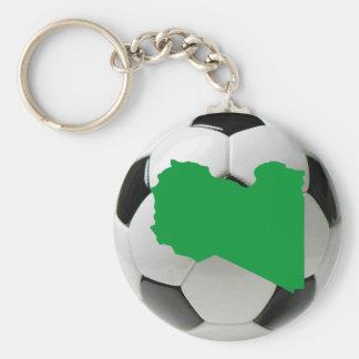 Equipo nacional de Libia Llavero Redondo Tipo Pin