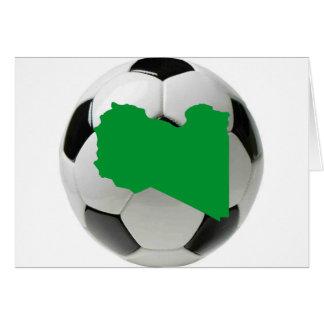 Equipo nacional de Libia Tarjeta De Felicitación
