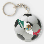 Equipo nacional de México Llaveros Personalizados