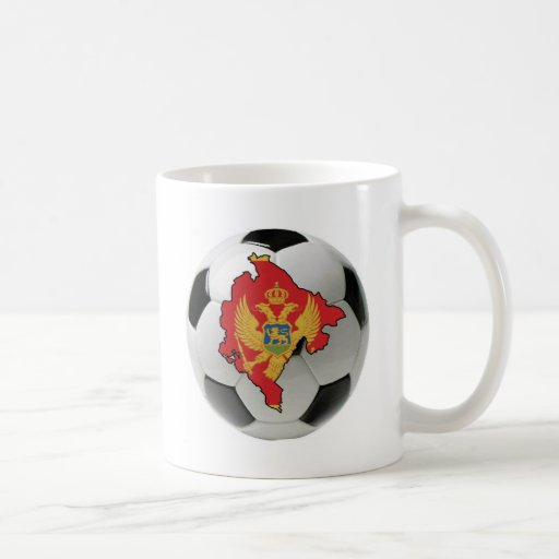 Equipo nacional de Montenegro Tazas De Café