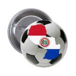 Equipo nacional de Paraguay Pins
