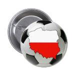 Equipo nacional de Polonia Pin