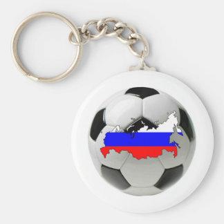 Equipo nacional de Rusia Llavero Redondo Tipo Pin