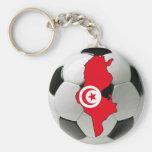 Equipo nacional de Túnez Llavero Personalizado