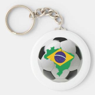 Equipo nacional del Brasil Llaveros