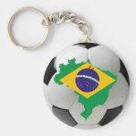 Equipo nacional del Brasil Llavero
