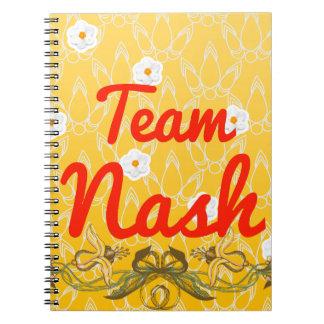 Equipo Nash Cuaderno