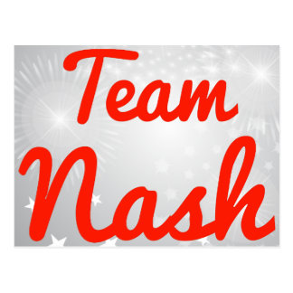 Equipo Nash Postal
