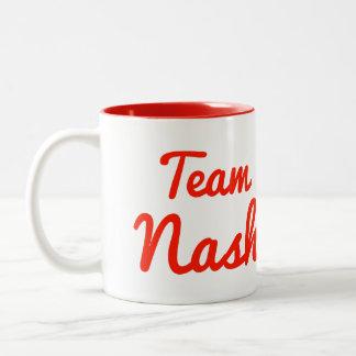 Equipo Nash Taza