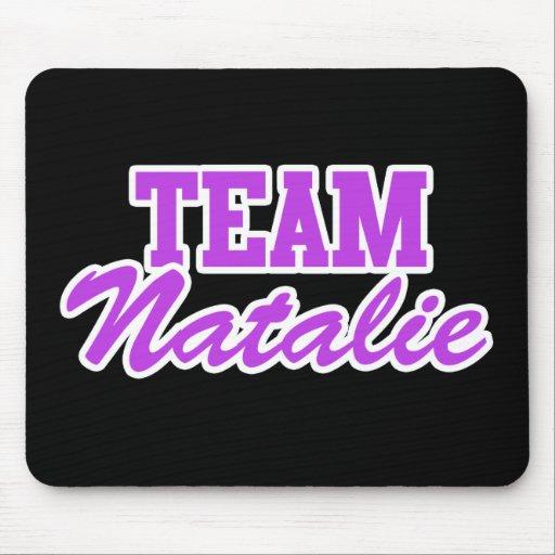 Equipo Natalie Alfombrillas De Raton