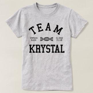 Equipo negro huérfano Krystal Poleras
