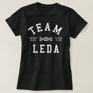 Equipo negro huérfano Leda Playeras