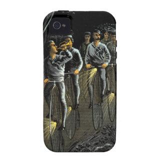 Equipo nocturno de la bici 1890 vibe iPhone 4 fundas