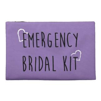 Equipo nupcial de la emergencia - color de encargo