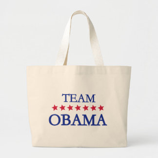 Equipo Obama 2012 Bolsas Lienzo