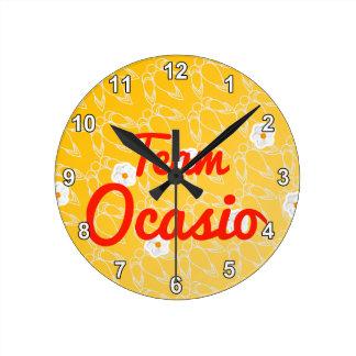 Equipo Ocasio Reloj De Pared