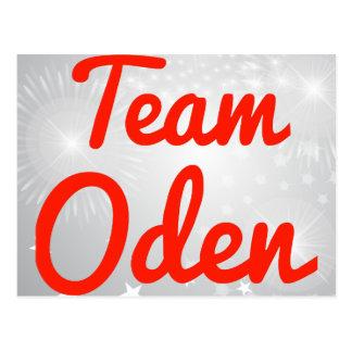 Equipo Oden Tarjetas Postales