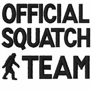 Equipo oficial de Squatch Camiseta Polo