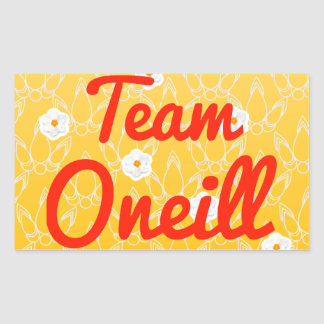Equipo Oneill Pegatina Rectangular